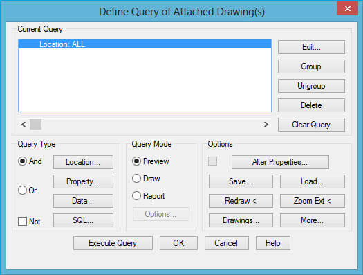 Cara Define Query