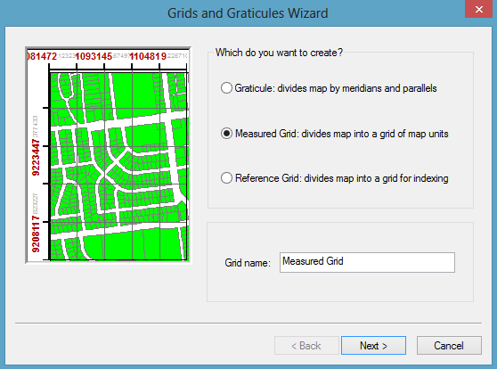 grids and graticules wizard arcgis