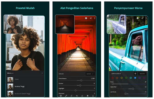 Aplikasi Edit Foto Adobe Lightroom