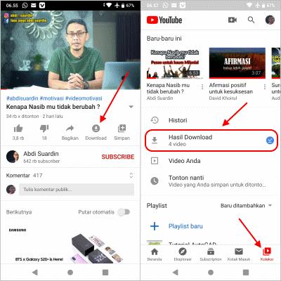 download video dengan youtube