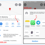 Cara Share Lokasi Google Map PC, Android, iPhone & iPad