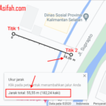 Cara Mengukur Jarak di Google Map PC, Android, iPhone & iPad