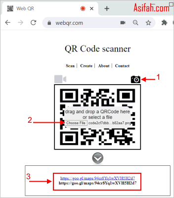 Cara Scan Barcode di Chrome
