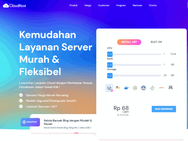 Review IDCloudHost 2021